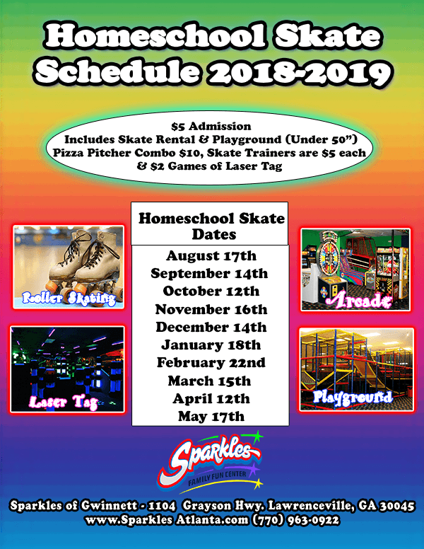 Homeschool Skate 18-19