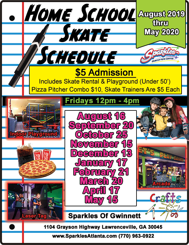 2019-2020 Homeschool Skate