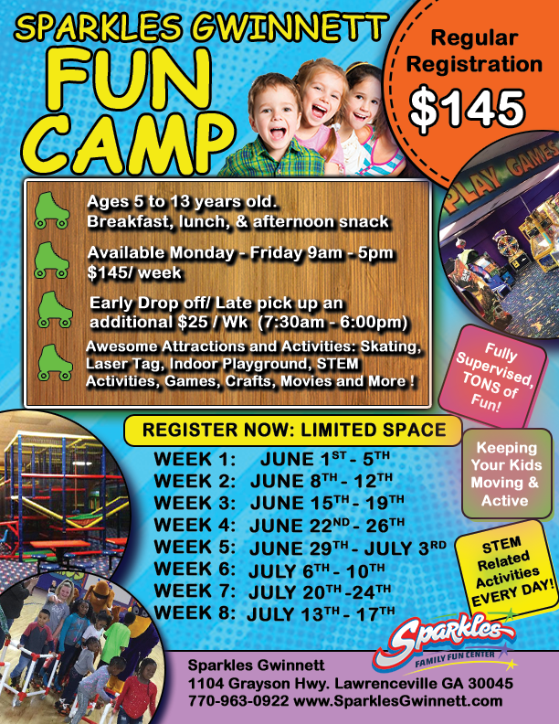 Sparkles Fun Camp
